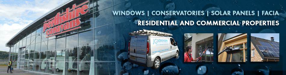 Window cleaner, Perth, Dundee, Tayside